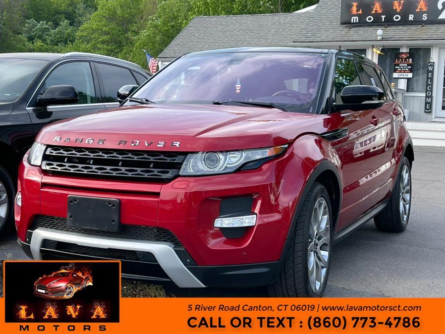 Used Land Rover Range Rover Evoque 5dr HB Dynamic Premium 2012 | Lava Motors. Canton, Connecticut