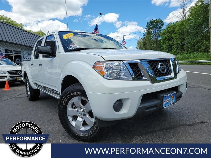 Used Nissan Frontier 4WD Crew Cab SWB Auto SV 2013 | Performance Motor Cars Of Connecticut LLC  . Wilton, Connecticut