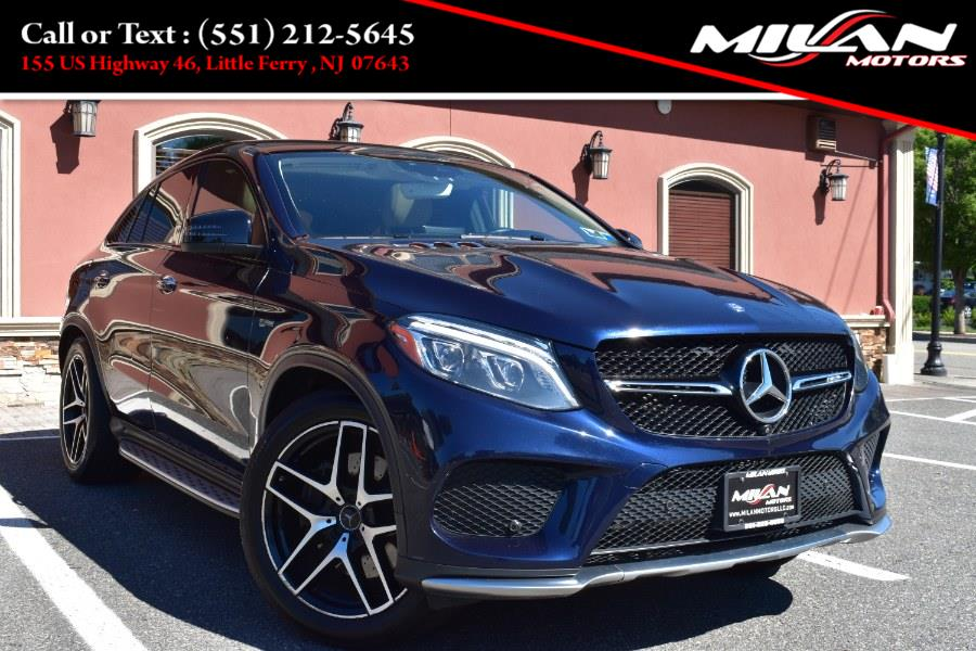 Used Mercedes-Benz GLE AMG GLE 43 4MATIC Coupe 2017   Milan Motors. Little Ferry , New Jersey