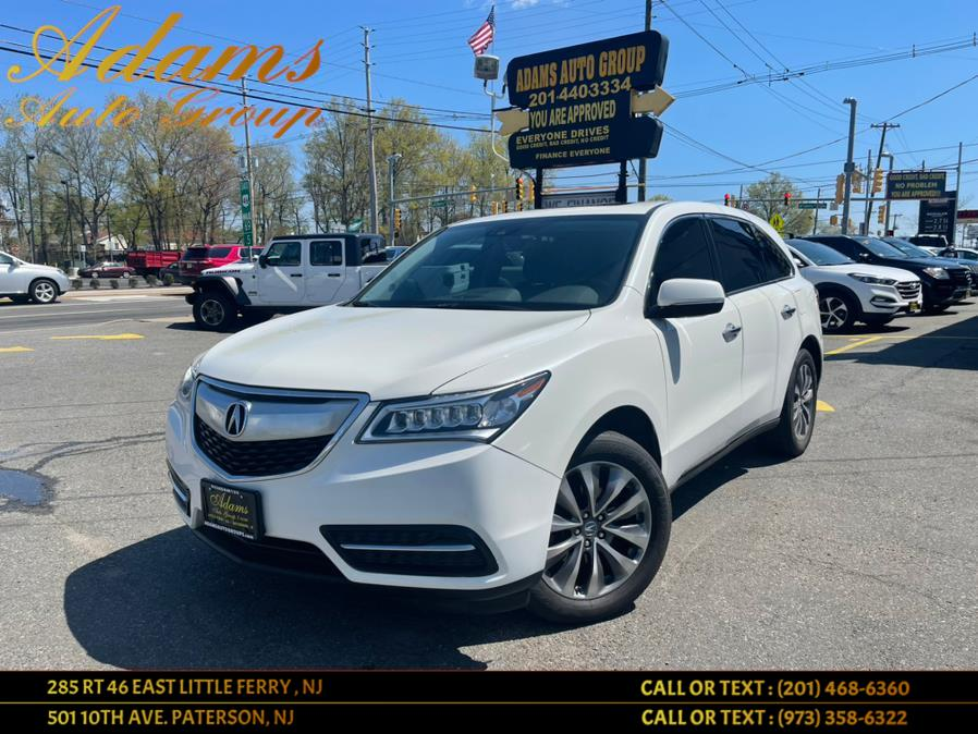 Used Acura MDX SH-AWD 4dr w/Tech 2016   Adams Auto Group . Little Ferry , New Jersey