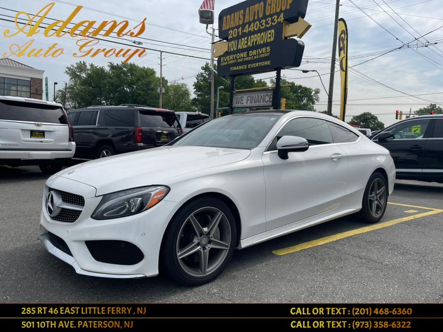 Used Mercedes-Benz C-Class C 300 4MATIC Coupe 2017 | Adams Auto Group . Little Ferry , New Jersey