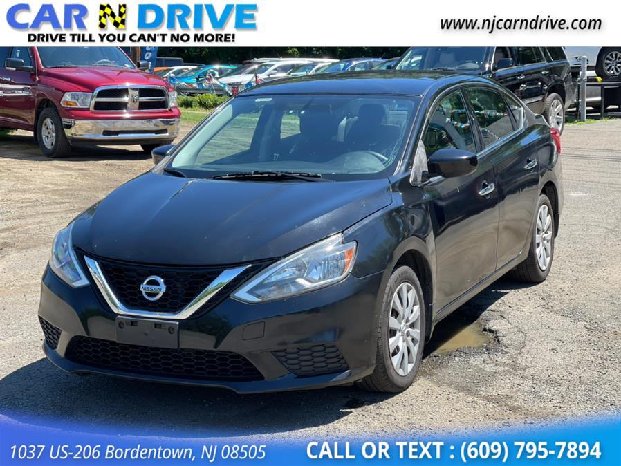 Used Nissan Sentra S CVT 2017 | Car N Drive. Bordentown, New Jersey