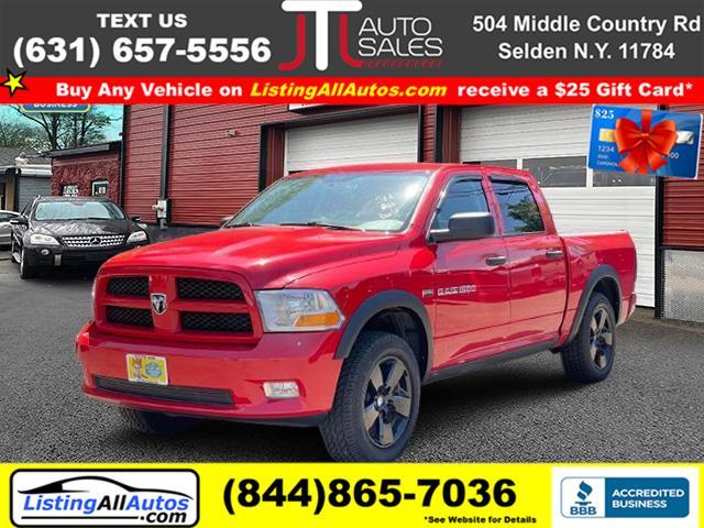 "Used Ram 1500 4WD Crew Cab 140.5"" ST 2012 | www.ListingAllAutos.com. Patchogue, New York"