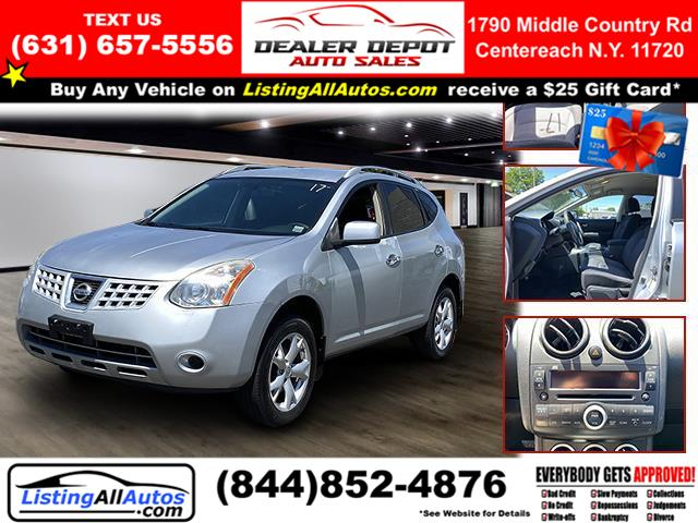 Used Nissan Rogue AWD 4dr S 2010 | www.ListingAllAutos.com. Patchogue, New York