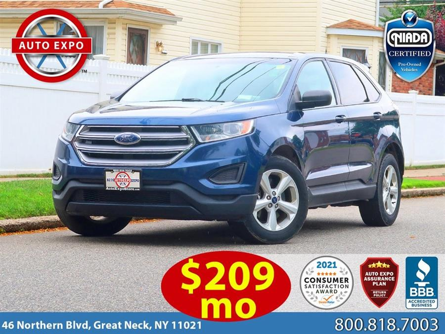Used 2017 Ford Edge in Great Neck, New York | Auto Expo Ent Inc.. Great Neck, New York