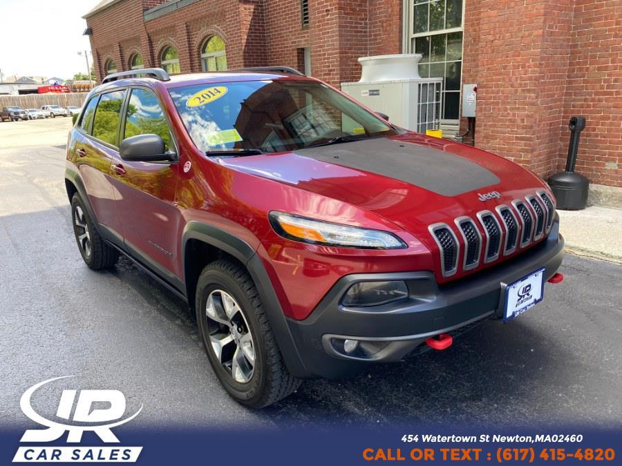 Used Jeep Cherokee 4WD 4dr Trailhawk 2014 | JR Car Care. Newton, Massachusetts