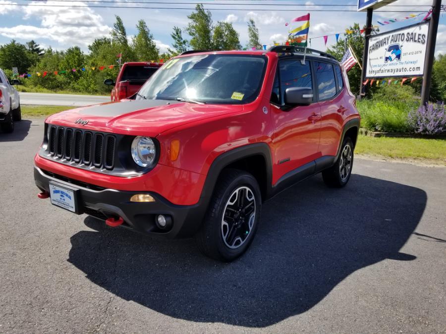 Used 2017 Jeep Renegade in Hancock, Maine | Fairway Auto Sales. Hancock, Maine