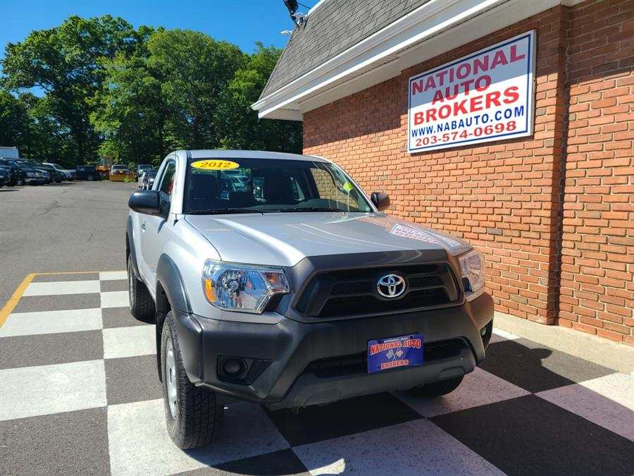 Used Toyota Tacoma 4WD Reg Cab Manual 2012   National Auto Brokers, Inc.. Waterbury, Connecticut
