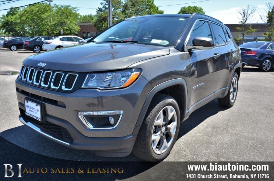 Used Jeep Compass Limited 4x4 2018   B I Auto Sales. Bohemia, New York