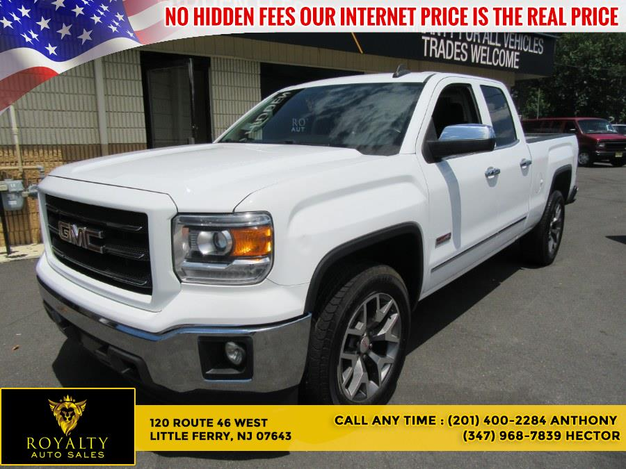 """Used GMC Sierra 1500 4WD Double Cab 143.5"""" SLT 2015 