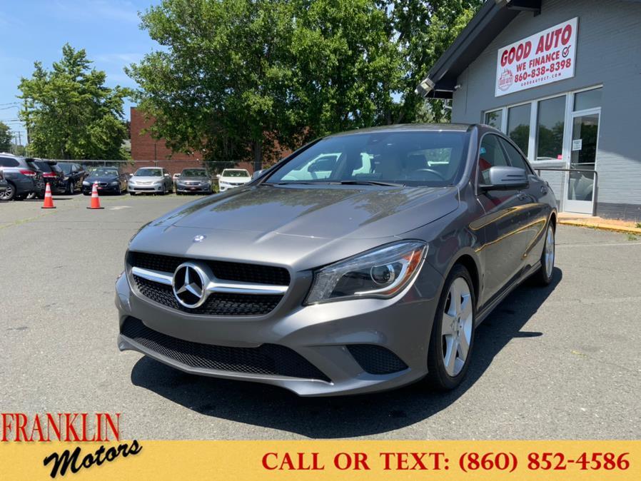 Used 2015 Mercedes-Benz CLA-Class in Hartford, Connecticut   Franklin Motors Auto Sales LLC. Hartford, Connecticut