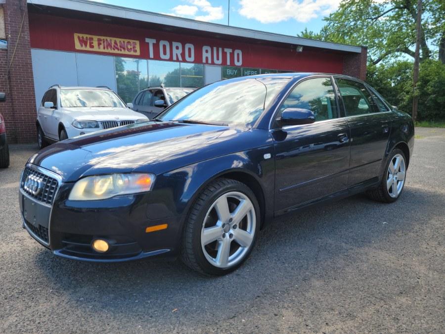 Used Audi A4 Quattro 3.2 V6 AWD 2008   Toro Auto. East Windsor, Connecticut