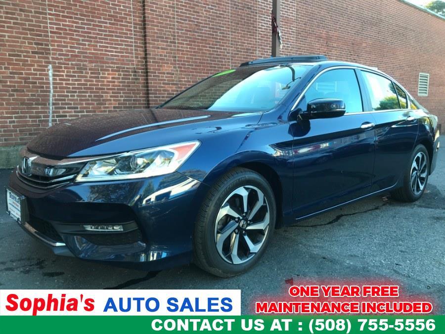Used 2016 Honda Accord Sedan in Worcester, Massachusetts | Sophia's Auto Sales Inc. Worcester, Massachusetts