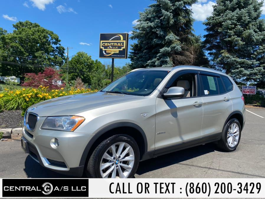 Used BMW X3 AWD 4dr xDrive28i 2013 | Central A/S LLC. East Windsor, Connecticut