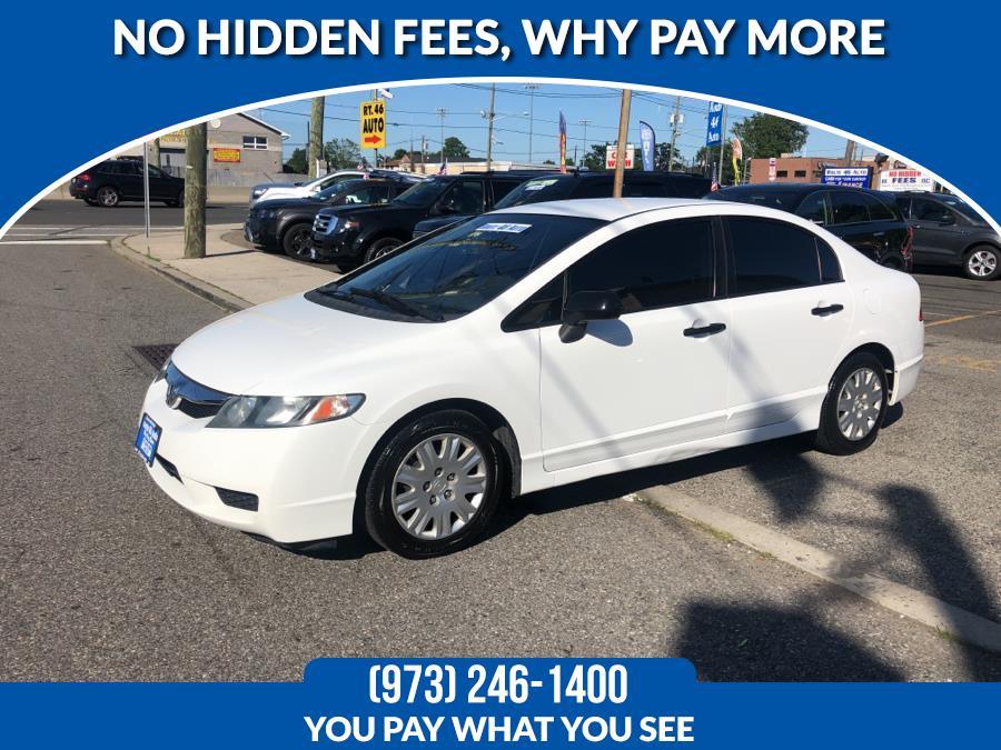 Used 2011 Honda Civic Sdn in Lodi, New Jersey | Route 46 Auto Sales Inc. Lodi, New Jersey
