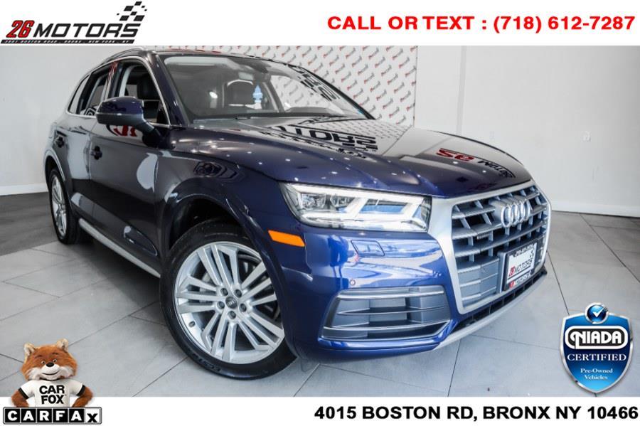 Used Audi Q5 2.0 TFSI Premium Plus 2018   26 Motors Corp. Bronx, New York