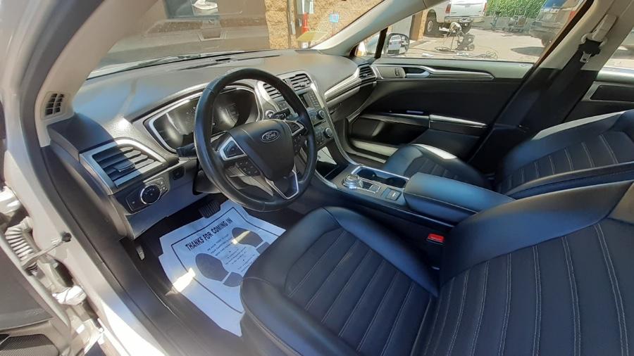 Used Ford Fusion Hybrid SE FWD 2017 | Wonderland Auto. Revere, Massachusetts