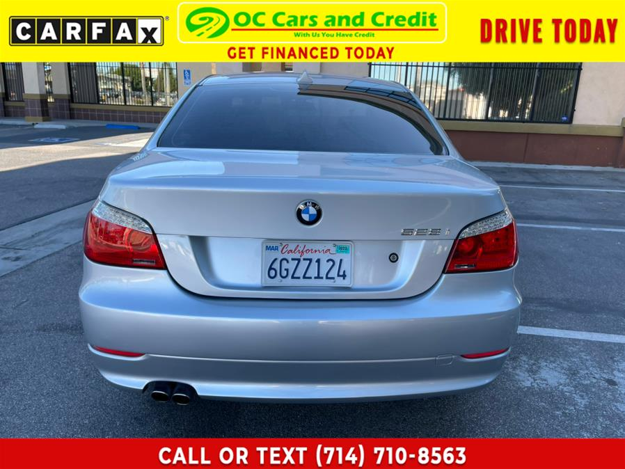 Used BMW 5 Series 4dr Sdn 528i RWD 2009   OC Cars and Credit. Garden Grove, California