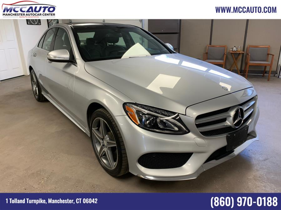 Used Mercedes-Benz C-Class 4dr Sdn C 300 Luxury 4MATIC 2015 | Manchester Autocar Center. Manchester, Connecticut