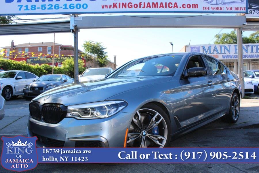 Used BMW 5 Series M550i xDrive Sedan 2018   King of Jamaica Auto Inc. Hollis, New York