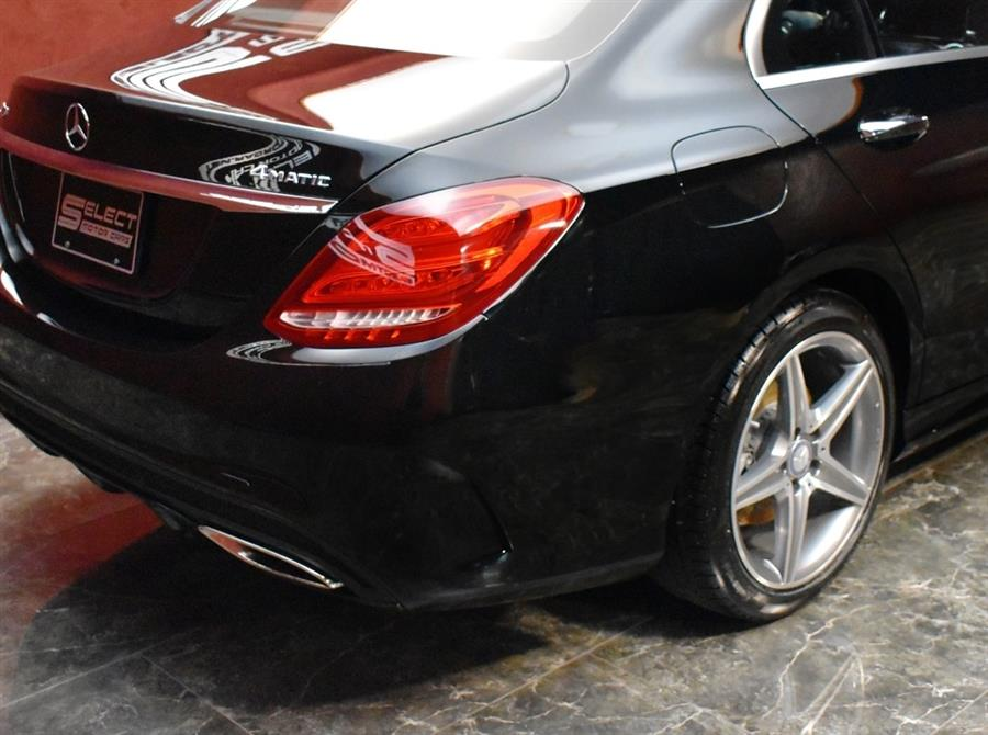 Used Mercedes-benz C-class C 300 4MATIC Sport 2015 | Select Motor Cars. Deer Park, New York