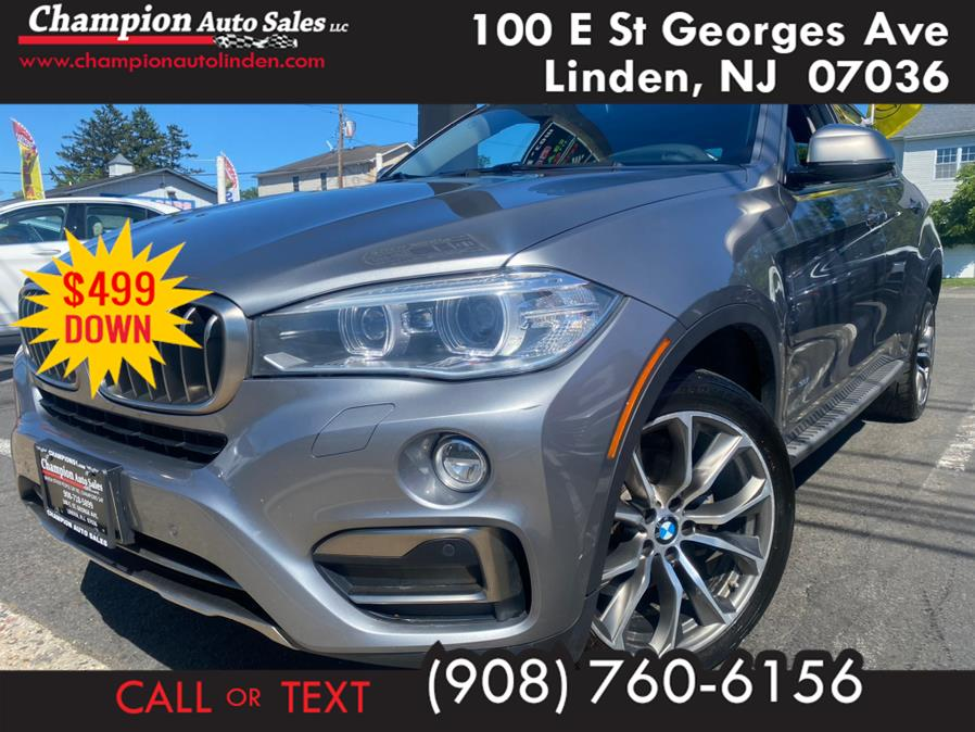 Used 2016 BMW X6 in Linden, New Jersey | Champion Auto Sales. Linden, New Jersey