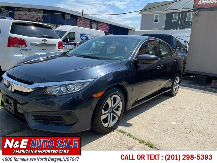 Used Honda Civic Sedan 4dr CVT LX 2016 | N&E Auto Sale LLC. North Bergen, New Jersey