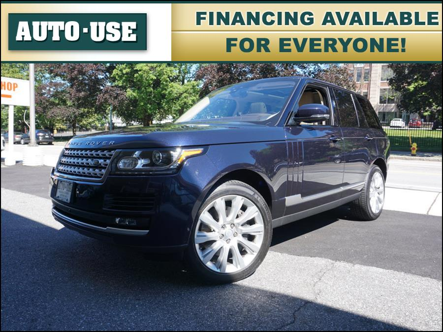 Used Land Rover Range Rover Supercharged 2017 | Autouse. Andover, Massachusetts