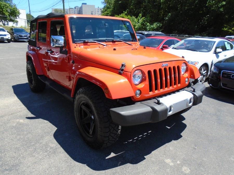 Used Jeep Wrangler Unlimited SPORT sahara 2015 | Jim Juliani Motors. Waterbury, Connecticut