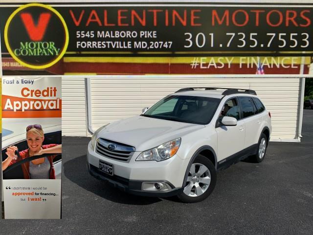 Used Subaru Outback 2.5i Prem AWP 2011   Valentine Motor Company. Forestville, Maryland