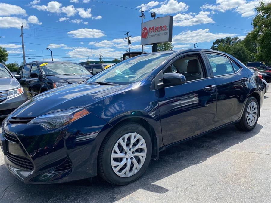 Used Toyota Corolla LE 4dr Sedan 2018   Mass Auto Exchange. Framingham, Massachusetts