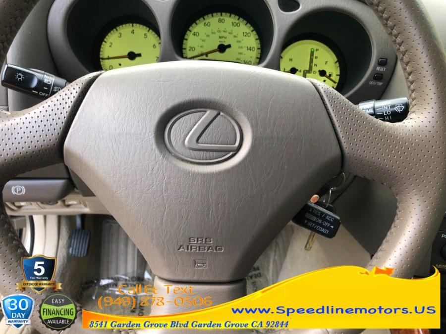 Used Lexus GS 300 4dr Sdn 2000 | Speedline Motors. Garden Grove, California