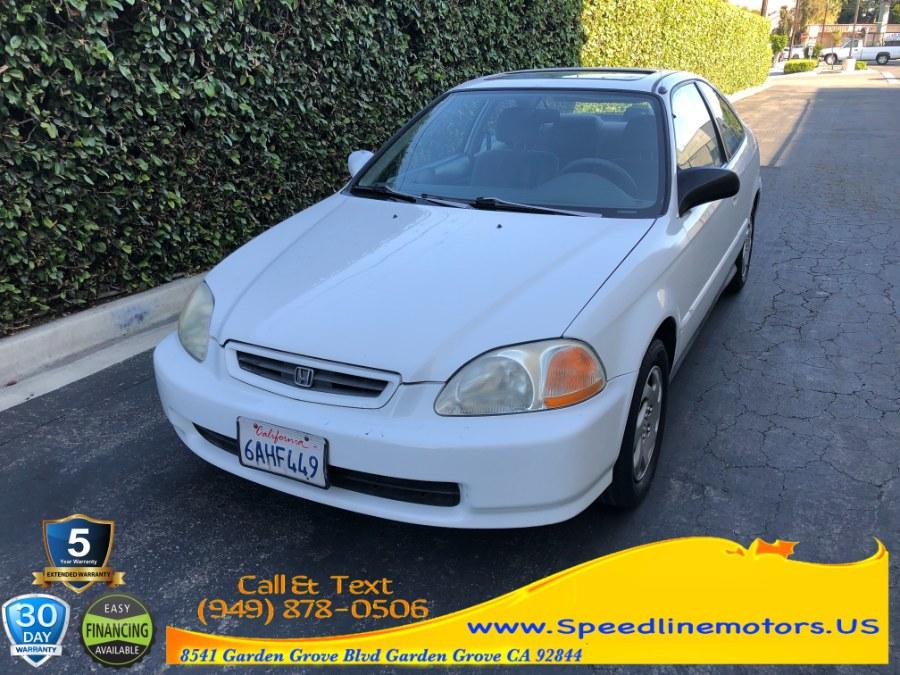 Used Honda Civic 2dr Cpe EX Auto 1996 | Speedline Motors. Garden Grove, California
