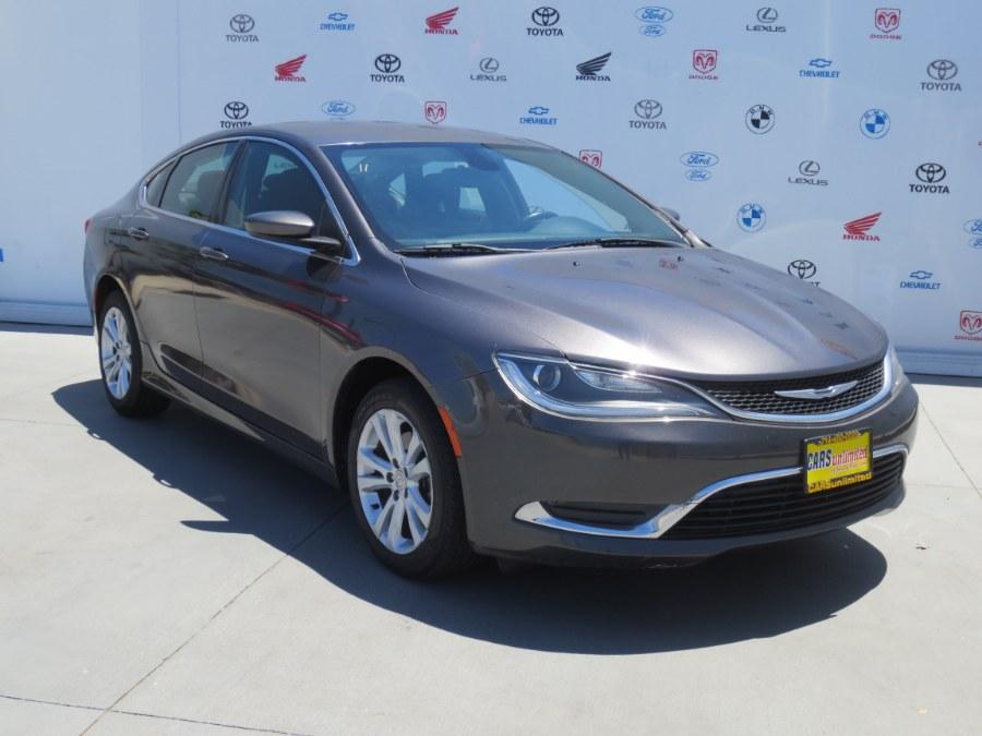 Used Chrysler 200 4dr Sdn Limited FWD 2015 | Auto Max Of Santa Ana. Santa Ana, California