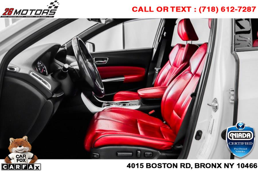 2019 Acura TLX 3.5L SH-AWD w/A-Spec Pkg Red Leather, available for sale in Bronx, NY