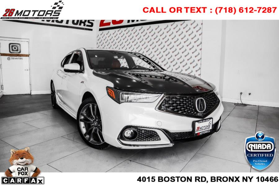 Used Acura TLX 3.5L SH-AWD w/A-Spec Pkg Red Leather 2019 | 26 Motors Corp. Bronx, New York