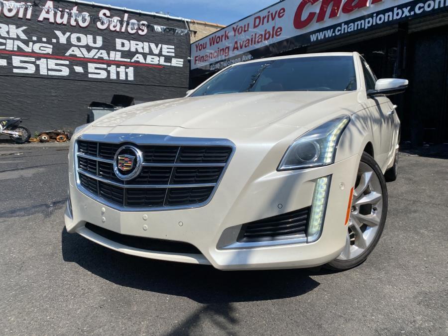 Used 2014 Cadillac CTS Sedan in Bronx, New York | Champion Auto Sales Of The Bronx. Bronx, New York