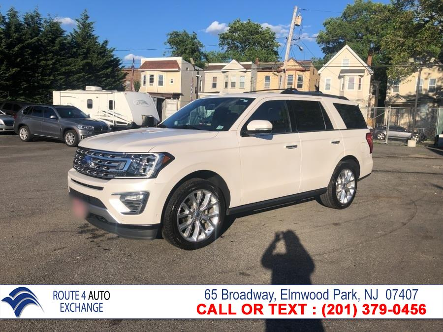 Used Ford Expedition Limited 4x4 2018 | Route 4 Auto Exchange. Elmwood Park, New Jersey