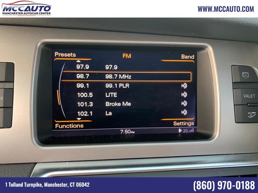 Used Audi Q7 quattro 4dr 3.0T Premium Plus 2015   Manchester Autocar Center. Manchester, Connecticut