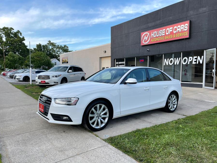 Used Audi A4 4dr Sdn Auto quattro 2.0T Premium Plus 2013 | House of Cars CT. Meriden, Connecticut