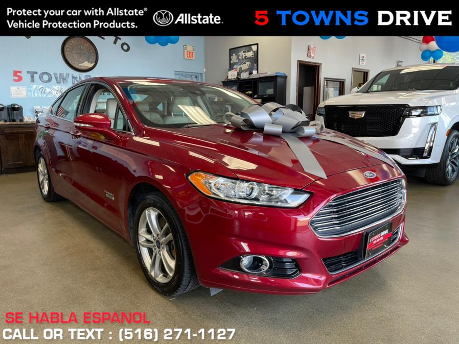 2016 Ford Fusion Energi 4dr Sdn Titanium, available for sale in Inwood, NY