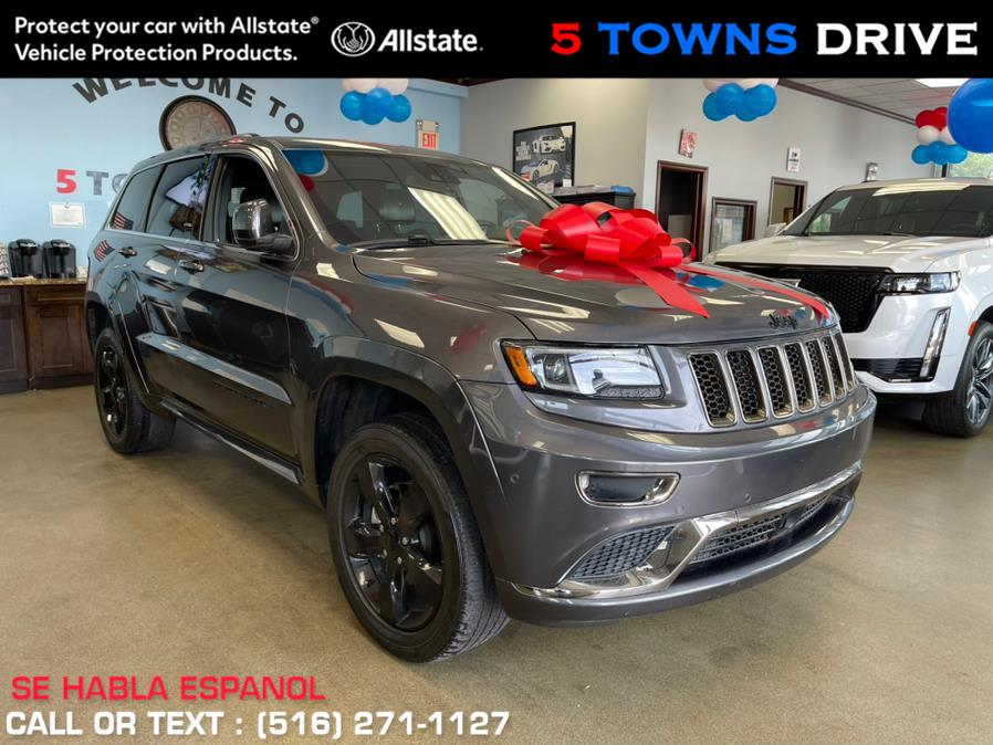 Used Jeep Grand Cherokee 4WD 4dr High Altitude Overland 2016   5 Towns Drive. Inwood, New York