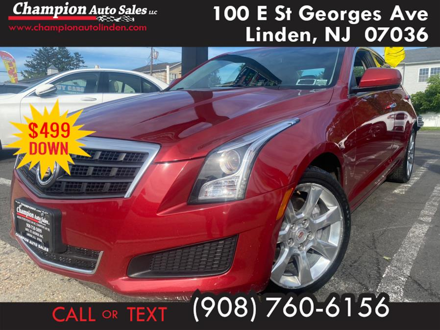 Used 2014 Cadillac ATS in Linden, New Jersey | Champion Auto Sales. Linden, New Jersey
