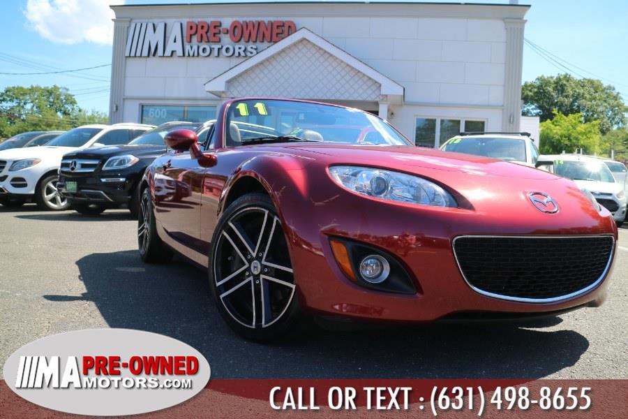 Used Mazda MX-5 Miata 2dr Conv PRHT Man Grand Touring 2011   M & A Motors. Huntington, New York