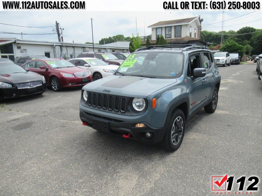 Used Jeep Renegade 4WD 4dr Trailhawk 2015 | 112 Auto Sales. Patchogue, New York