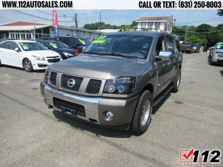 Used Nissan Armada 4WD 4dr LE 2007   112 Auto Sales. Patchogue, New York
