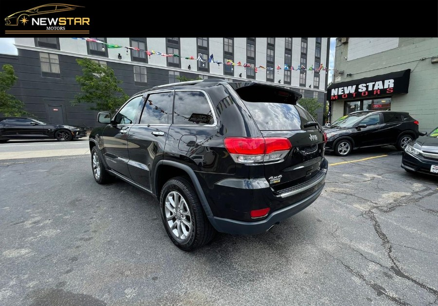 Used Jeep Grand Cherokee 4WD 4dr Limited 2014   New Star Motors. Chelsea, Massachusetts