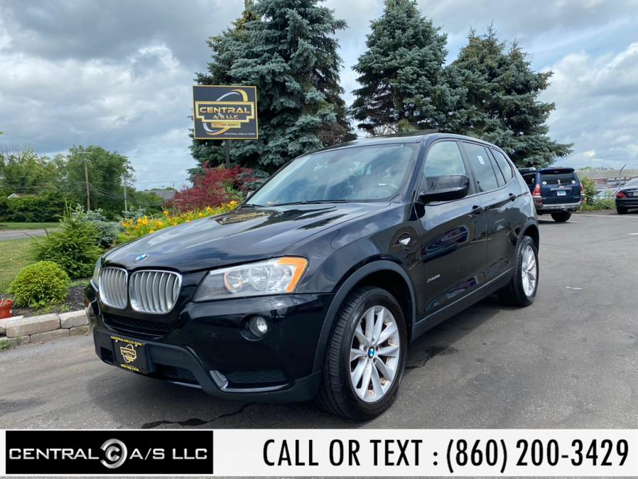 Used BMW X3 AWD 4dr xDrive28i 2014 | Central A/S LLC. East Windsor, Connecticut