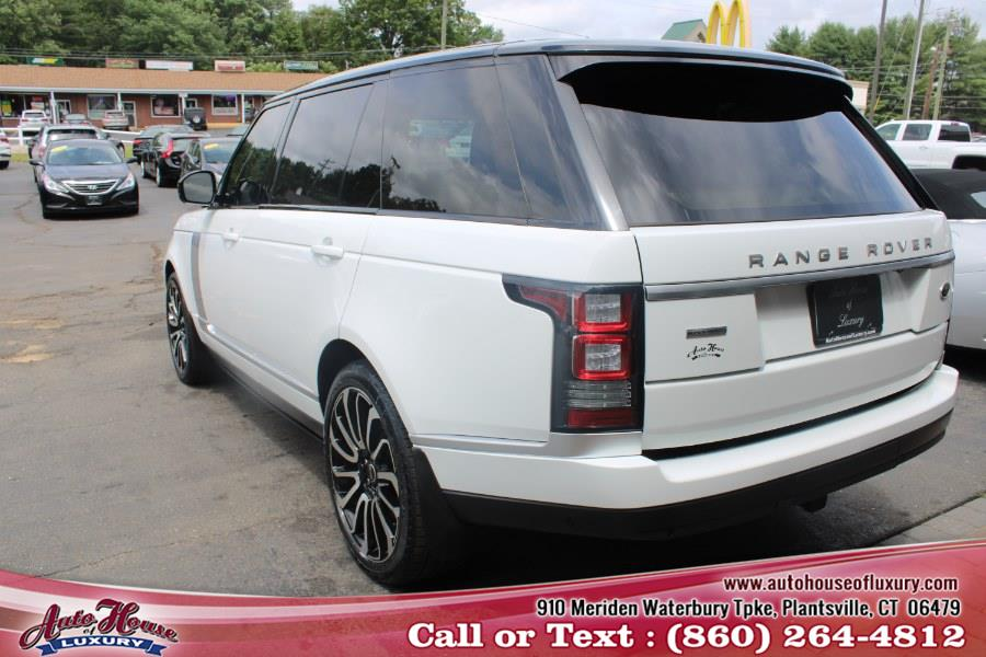 Used Land Rover Range Rover 4WD 4dr Supercharged LWB 2014   Auto House of Luxury. Plantsville, Connecticut