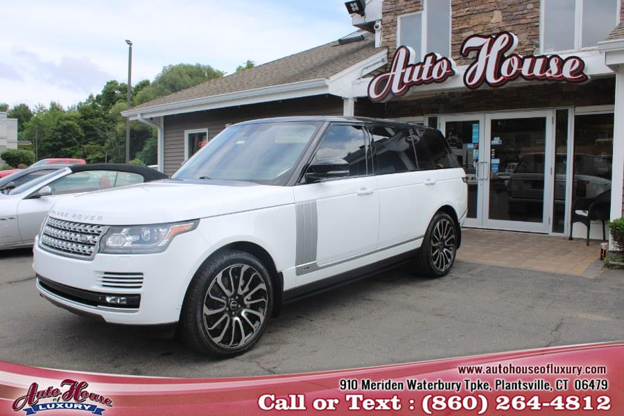 Used Land Rover Range Rover 4WD 4dr Supercharged LWB 2014 | Auto House of Luxury. Plantsville, Connecticut